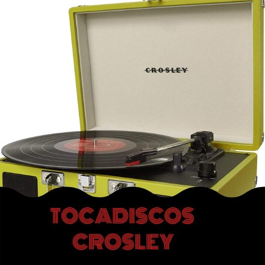crosley tocadiscos