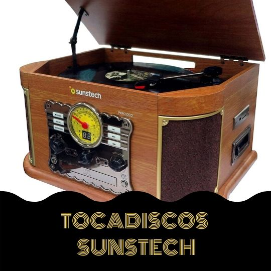 sunstech tocadiscos